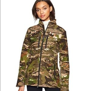 Under Armour Womens Wool Forest Camo Jacket